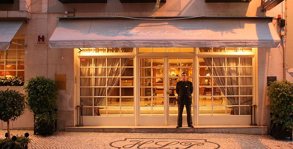 U verblijft in het L'Heritage Lissabon Plaza