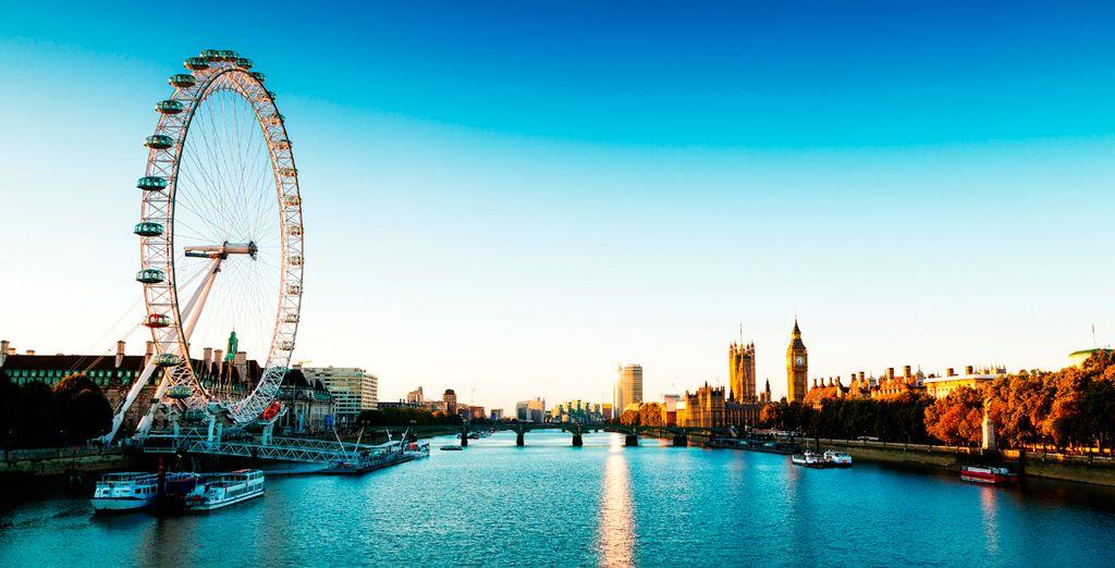 In het bruisende Londen!