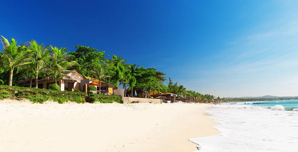 Een kleine tip: sluit uw reis in schoonheid af met de stranduitbreiding