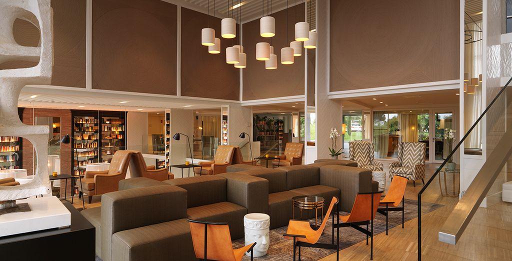 Geniet van de elegante en gezellige ruimtes