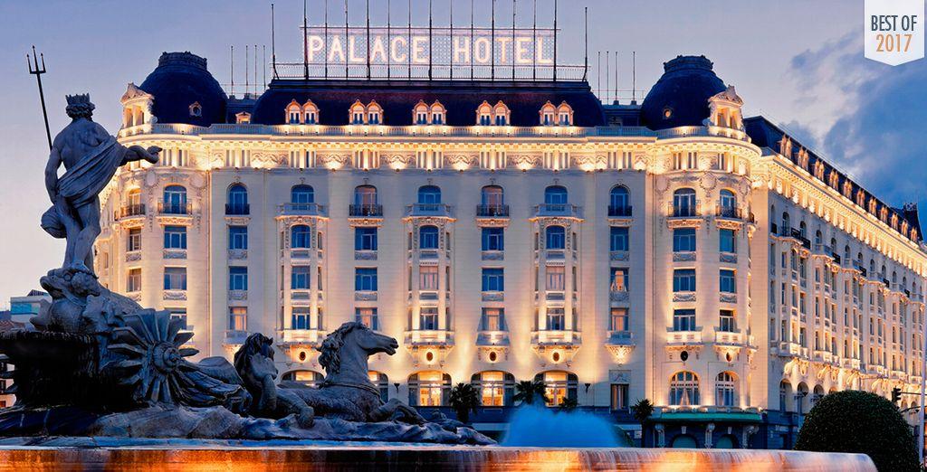 Welkom in het Westin Palace Madrid 5*