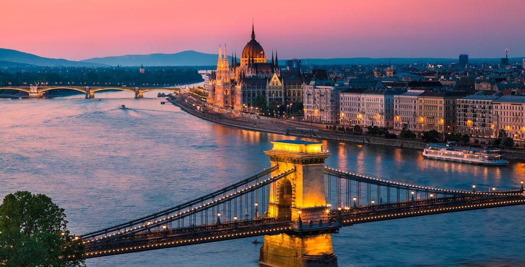 Om dan daarna de Hongaarse hoofdstad te verkennen