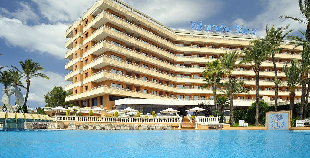 In het 5* hotel Valparaiso Palace