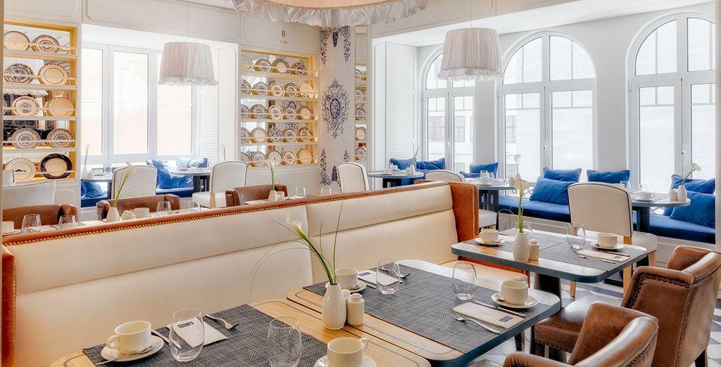 Het restaurant met heerlijke smaken en een gezellige omgeving