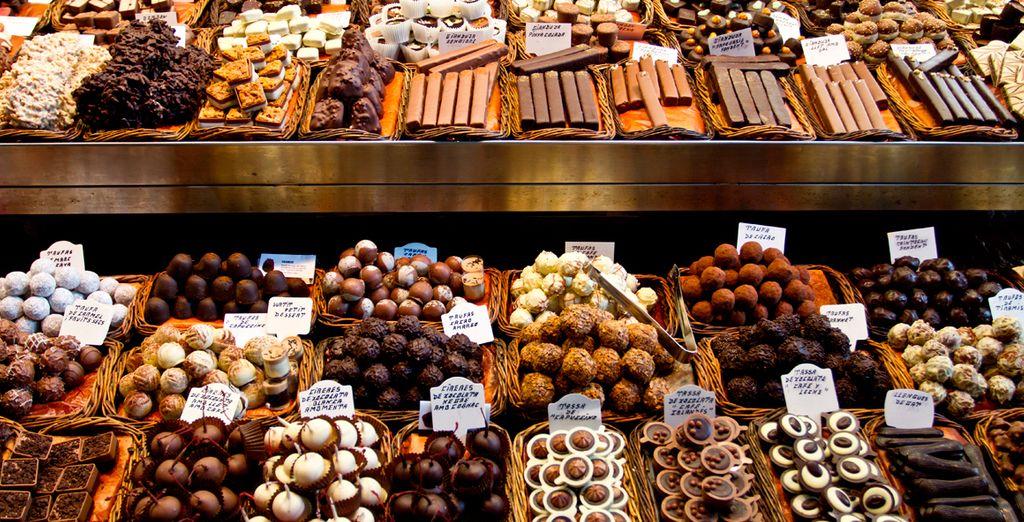 En het is een walhalla voor chocoladeliefhebbers!