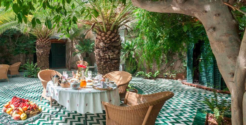 En proef van de heerlijke Marokkaanse keuken