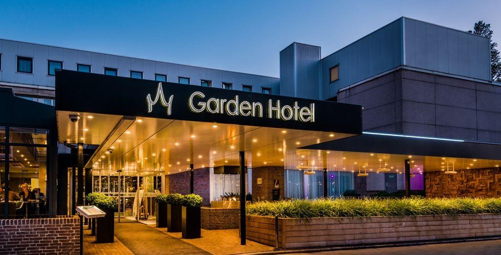 Welkom bij het Bilderberg Garden Hotel