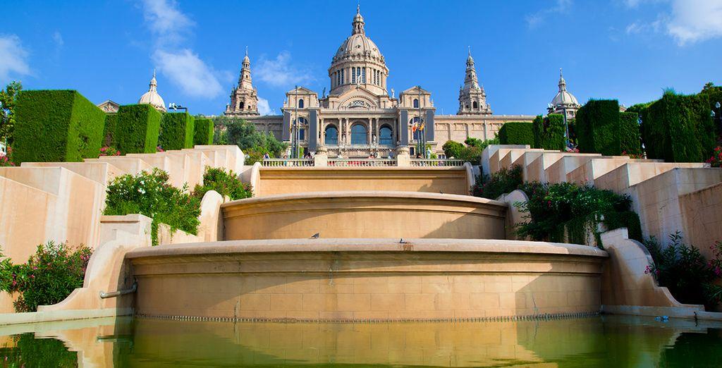 Het nationaal museum van Catalonië