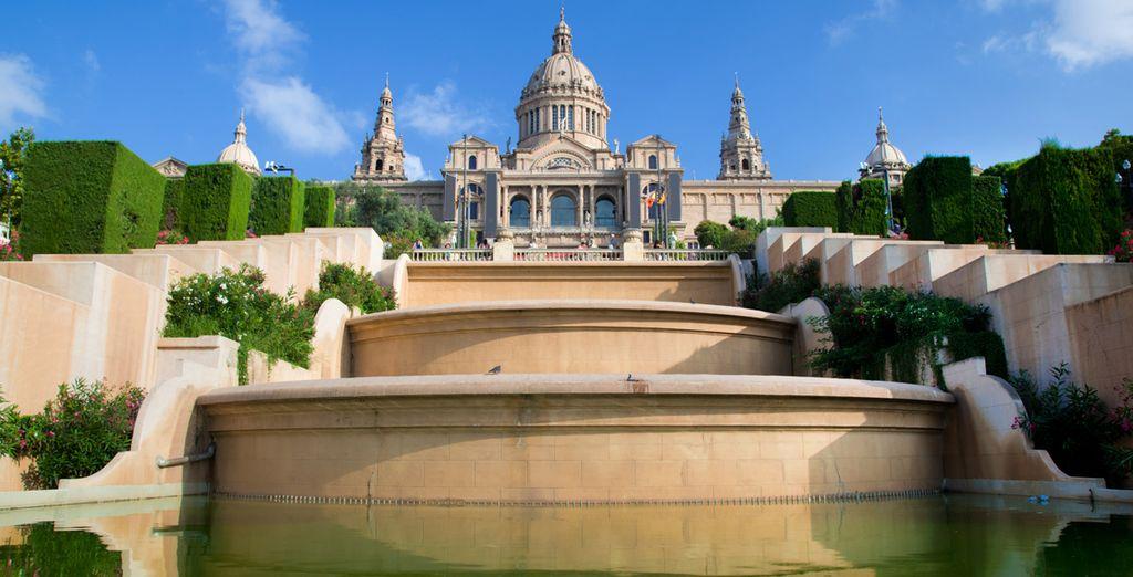 Het Nationale museum van Catalogne...