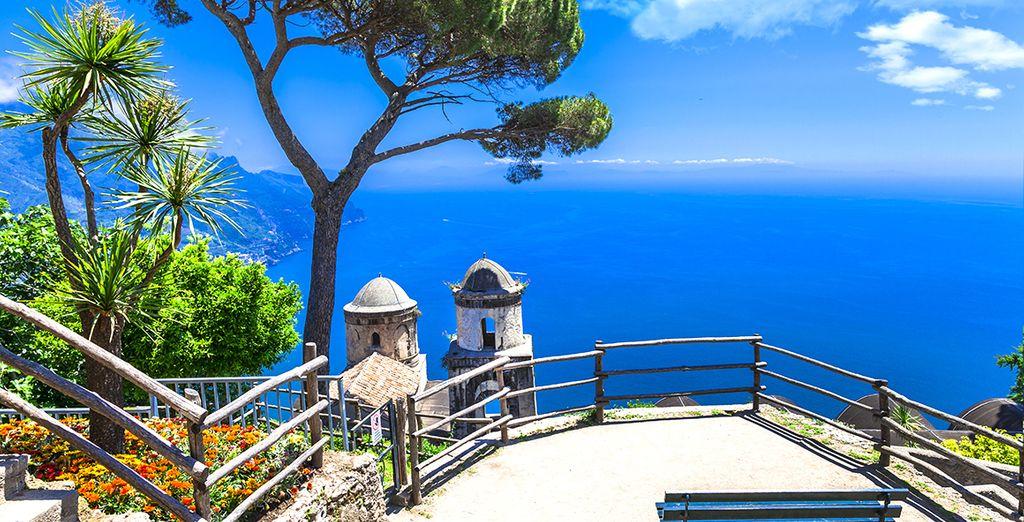 Ga vervolgens naar de kust van Amalfi