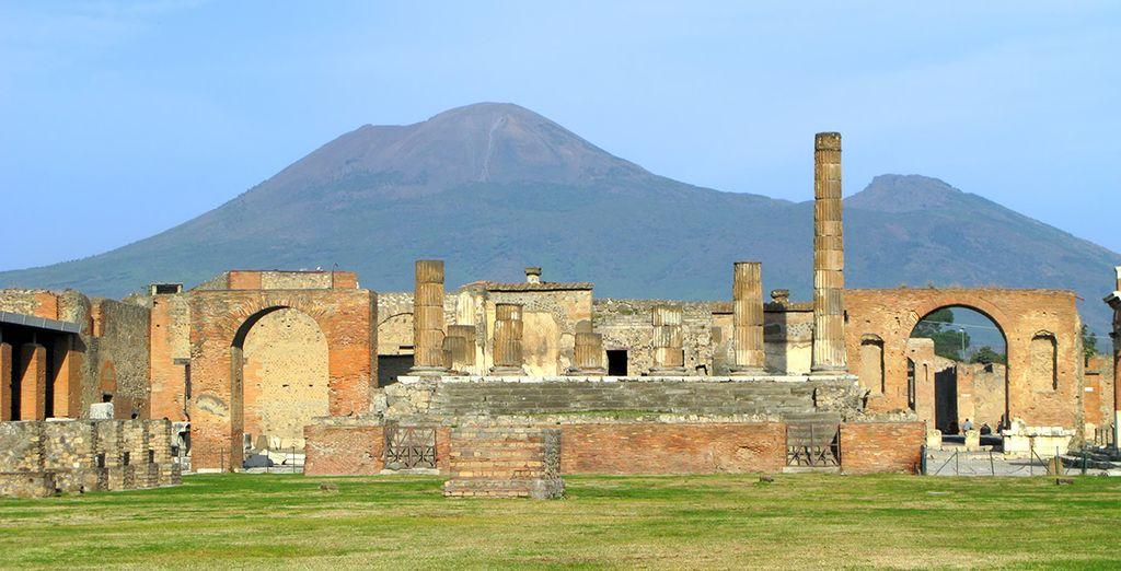 En ontdek Pompeii