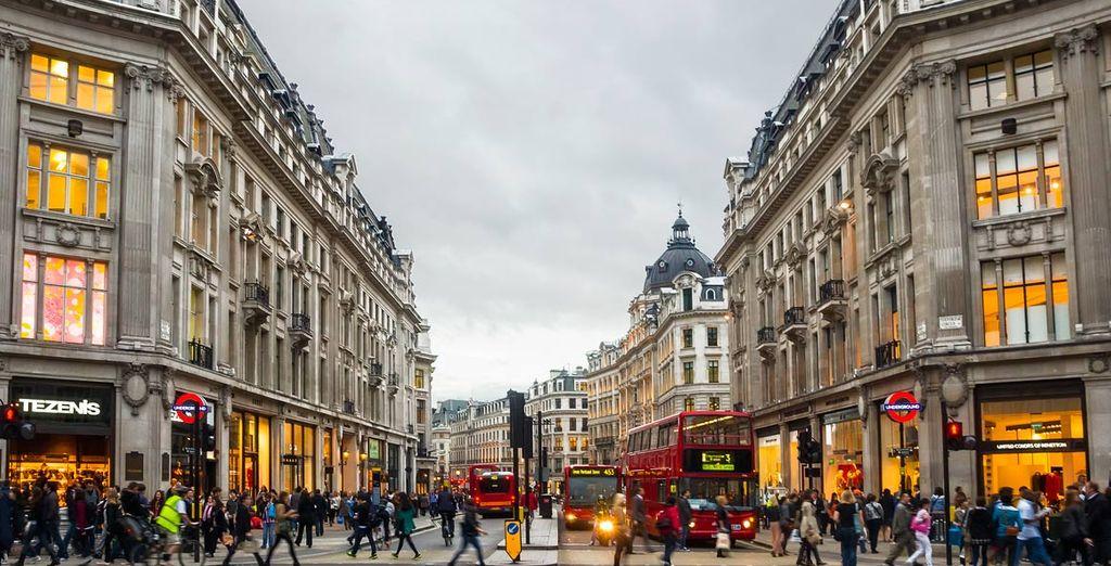 De multiculturele stad London zal u verbazen!