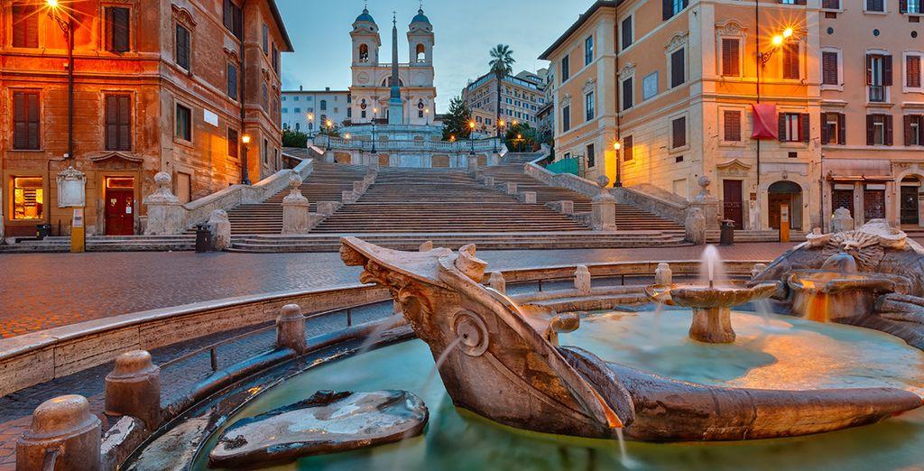 Bezoek de iconische bezienswaardigheden van Rome