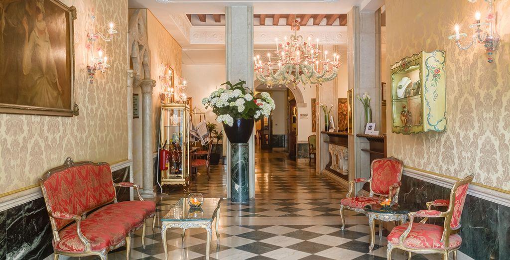 Welkom in het hotel Boscolo Bellini 4*