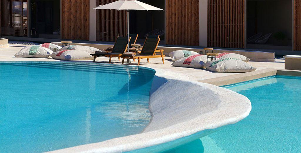 Een gloednieuw hotel met luxefaciliteiten