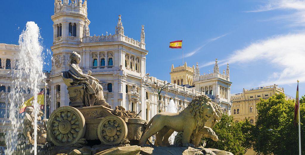 Ontdek de prachtige monumenten in Madrid