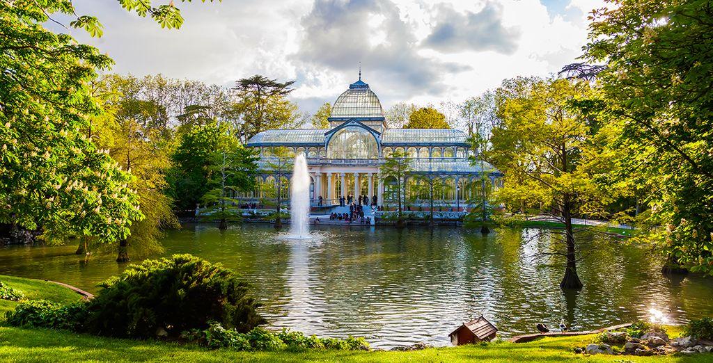 Of het adembenemende Buen Retiro Park