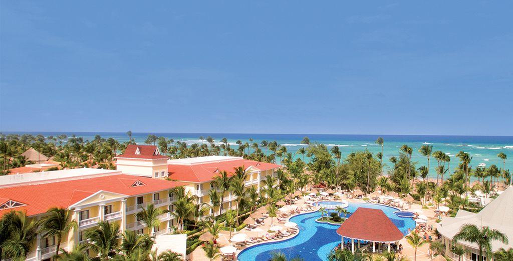 Een paradijselijke vakantie in het blauw...