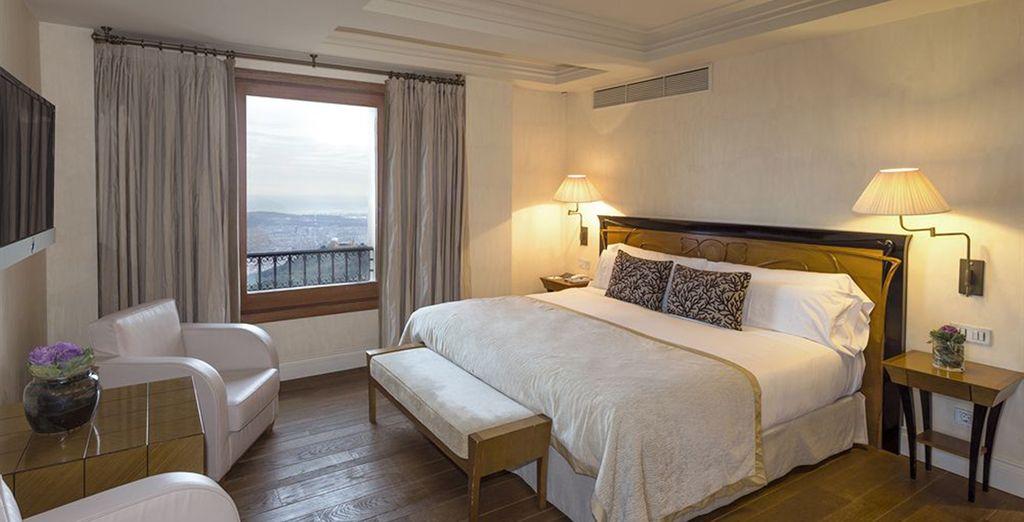 Verblijf in een prachtige kamer