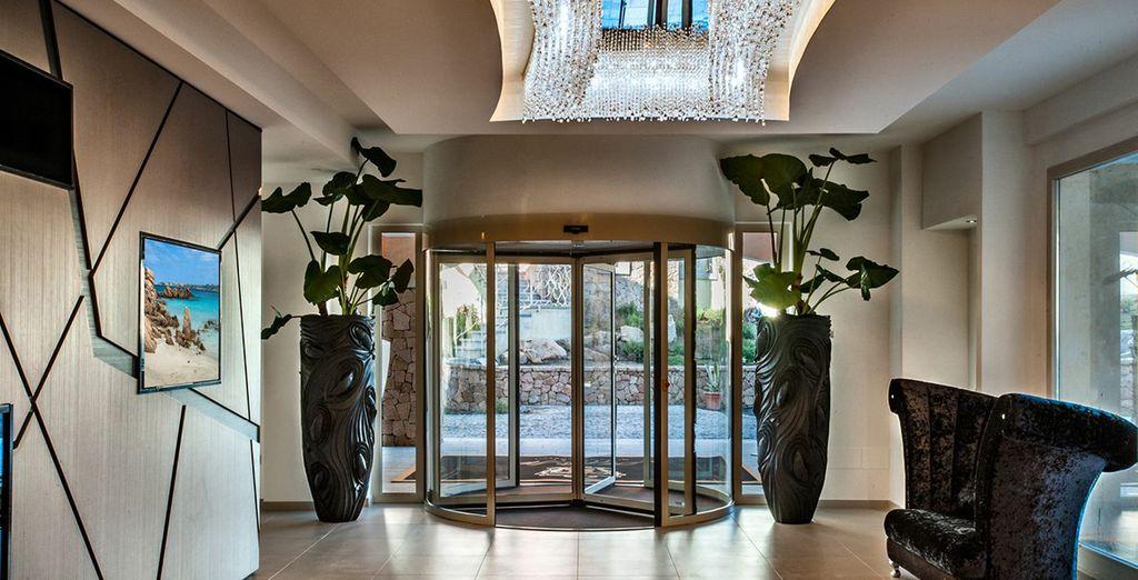 Kom binnen in een wereld van luxe en comfort