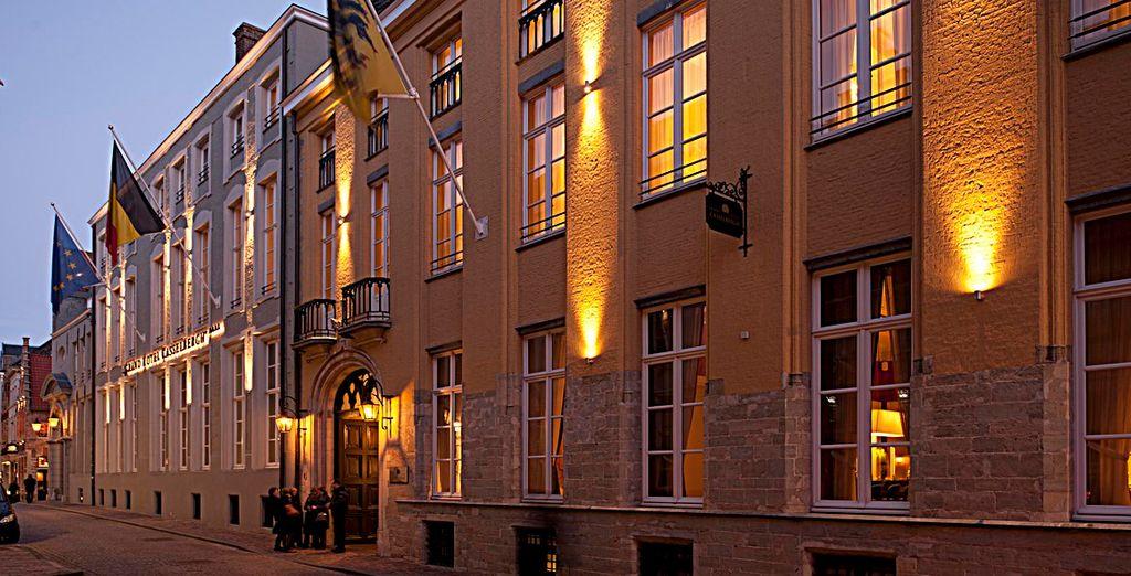 In het luxueuze Grand Hotel Casselbergh