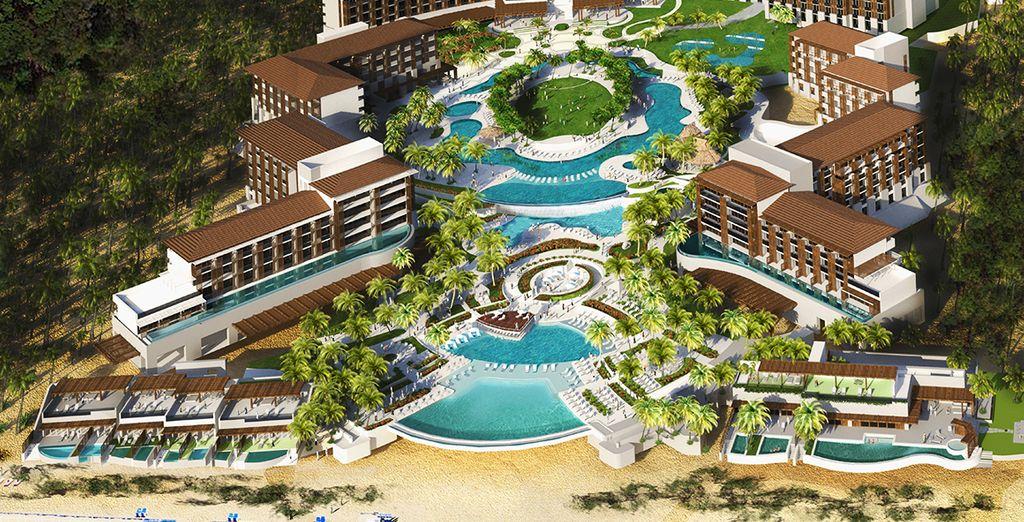 Het hotel Dreams Playa Mujeres heet u welkom!