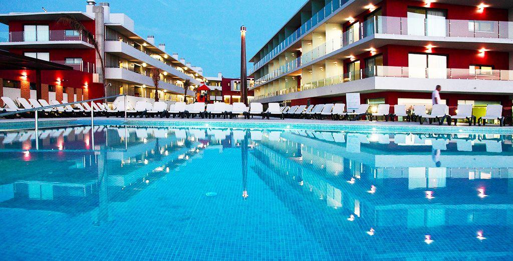 U verblijft in het Agua Hotels Riverside 4*