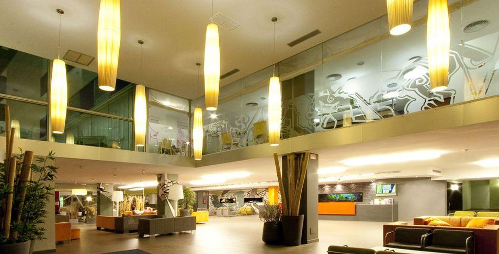 Een stijlvol viersterrenhotel