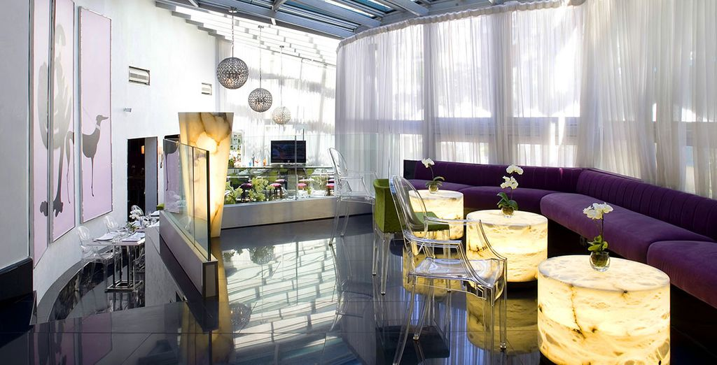 Een designhotel met een hedendaagse stijl