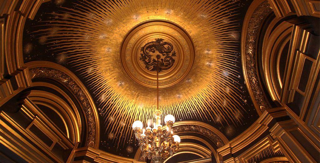 En de Opéra Garnier