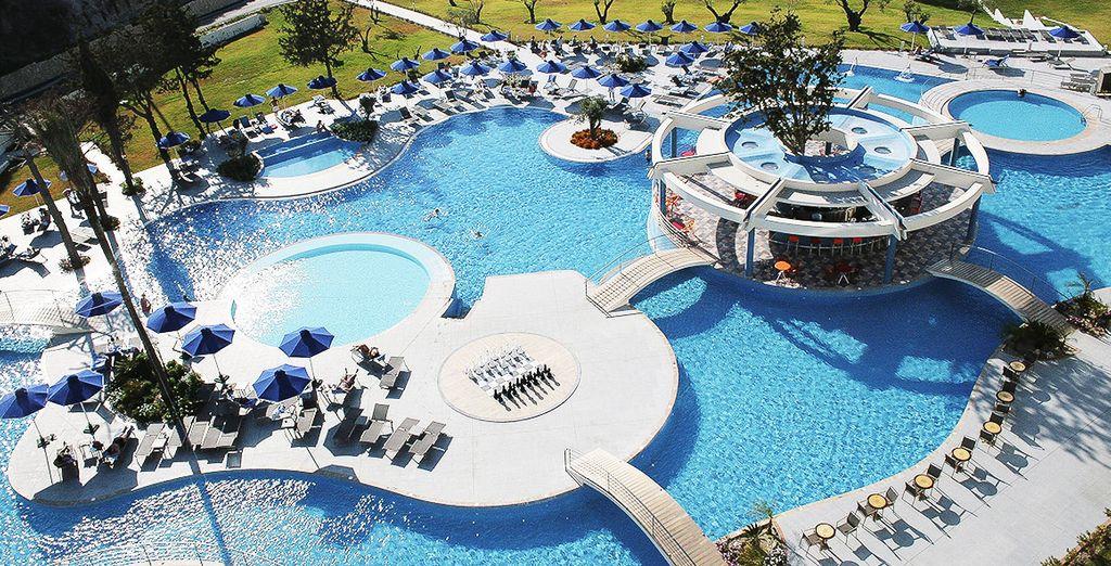 Dit hotel beschikt over een spa en geweldige faciliteiten