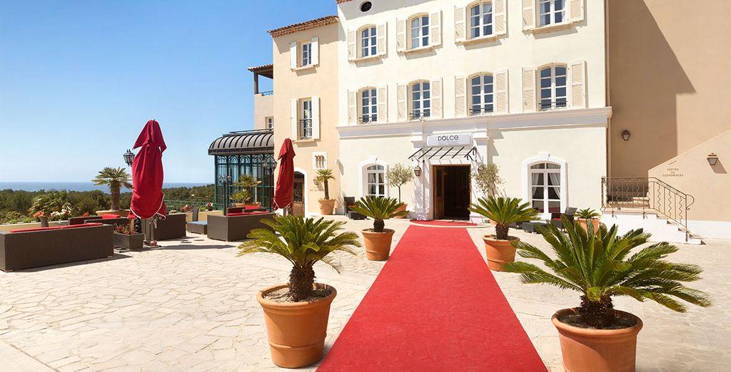 U verblijft in het resort Dolce Frégate Provence 4*