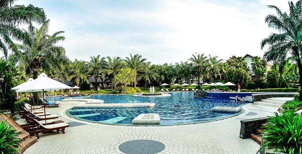 Daarna kunt u 5 nachten relaxen in het Palm Garden Resort