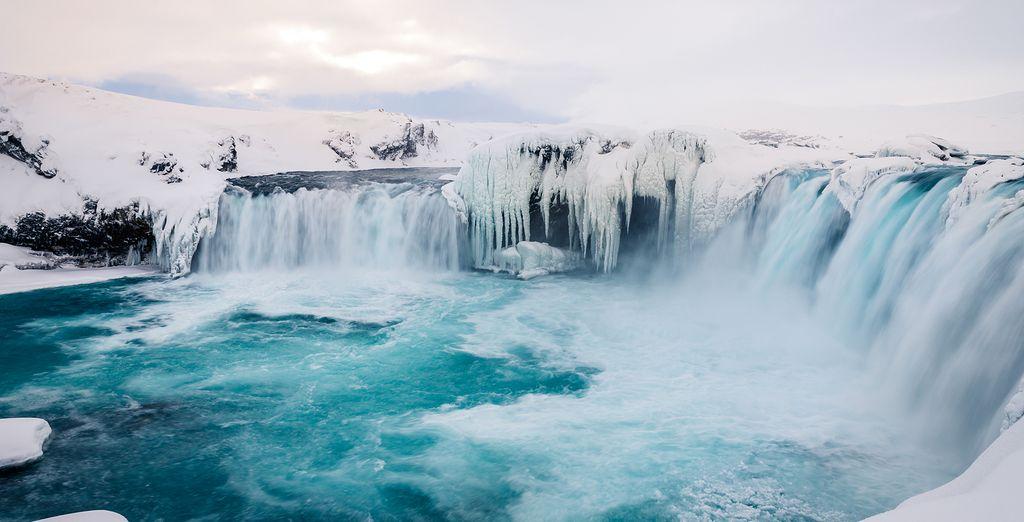 Tot ruisende watervallen