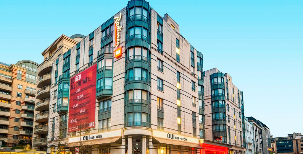 Verblijf dan in het moderne Radisson RED Hotel in Brussel!