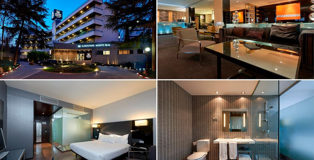 Hotel Eurostars Monte Real 4* in Madrid