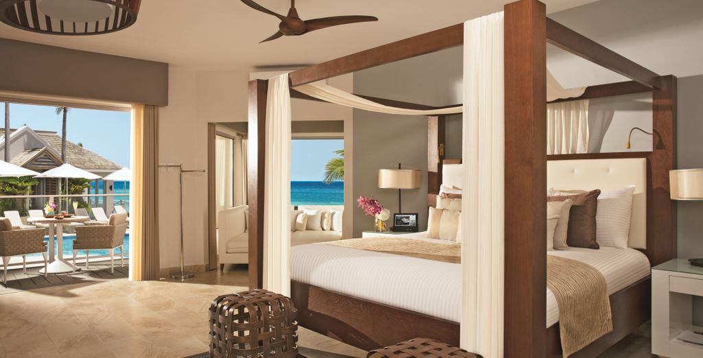 U krijgt een upgrade naar een Junior Suite Ocean View