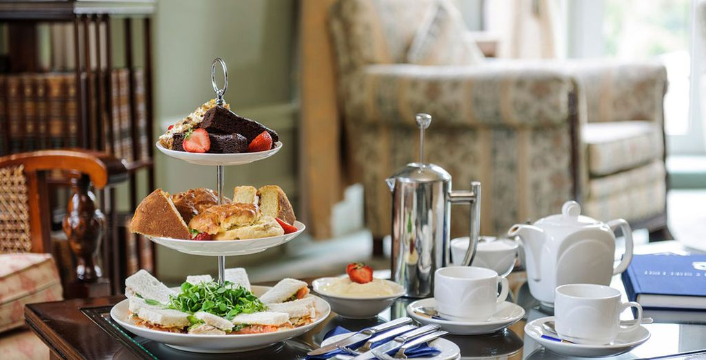 Treat yourself to an extensive afternoon tea!
