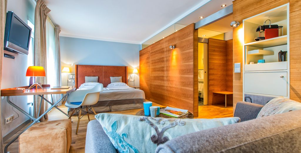 Stay at the Hotel & Villa Auersperg...