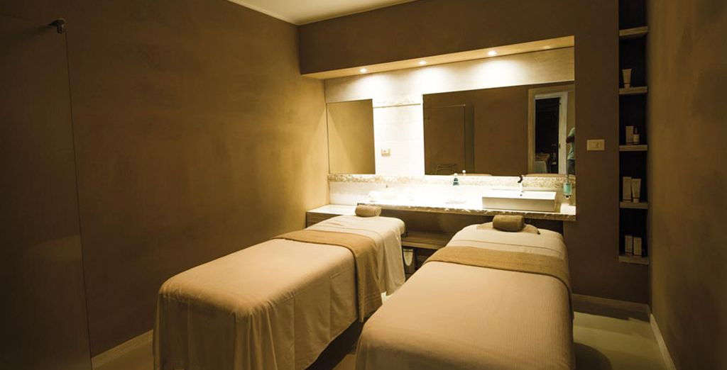 After a day in the sun, treat yourself with a visit to the Wellness Spa