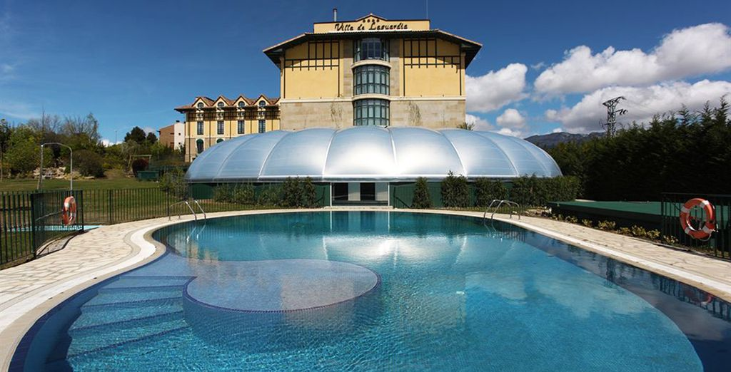 Stay at the Sercotel Villa de Laguardia