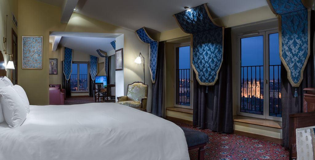 Treat yourself to an exceptional Medicis Suite