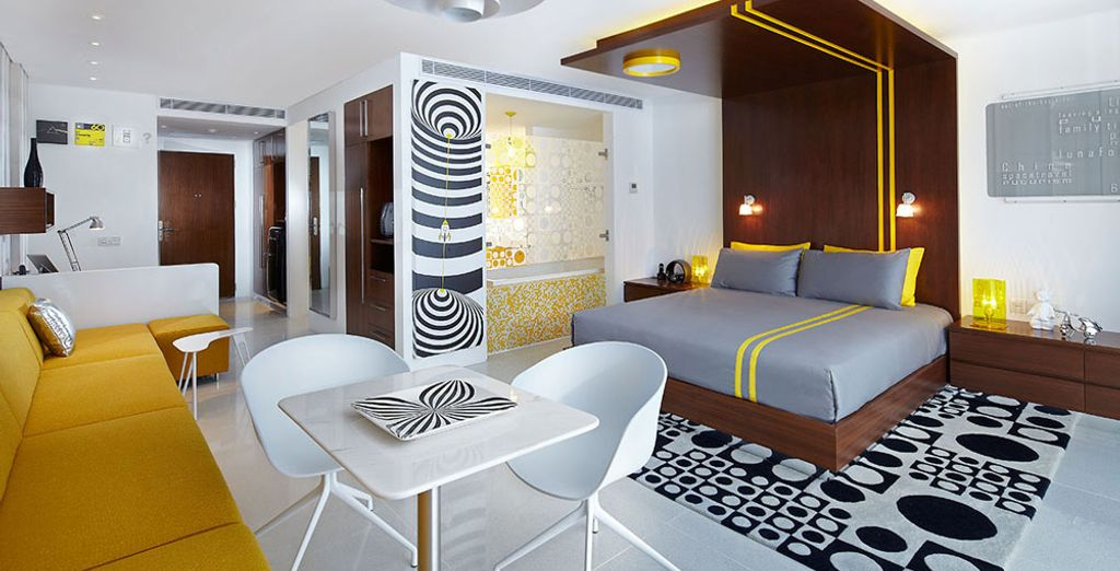 Spacious and completely furnished for your well-being