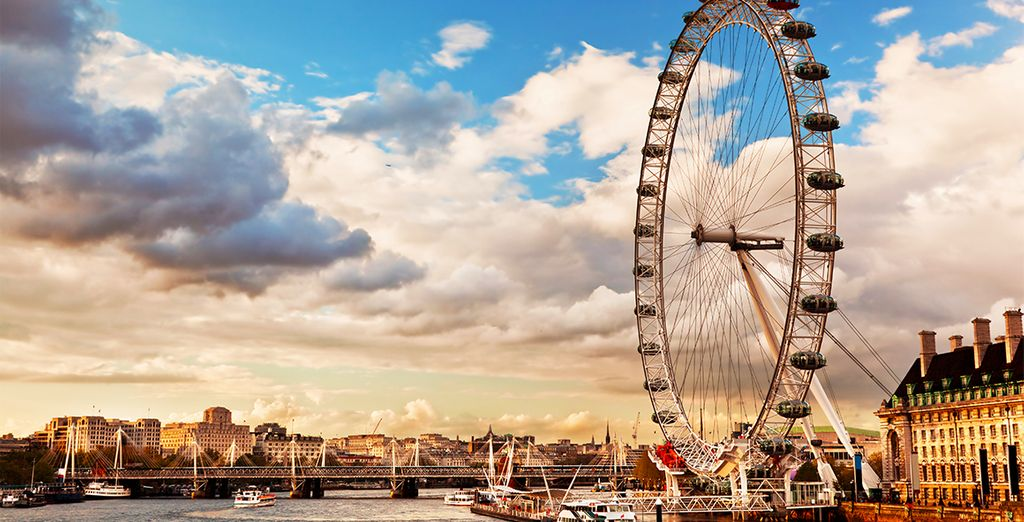 You are just steps away from London's most iconic landmarks