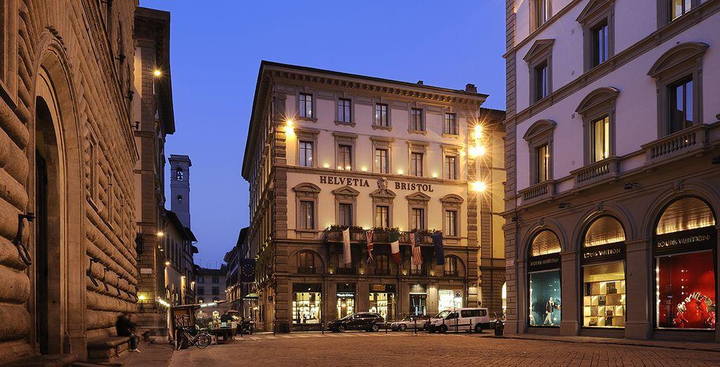 Enjoy an ideal location ... - Hotel Helvetia & Bristol 5* Florence