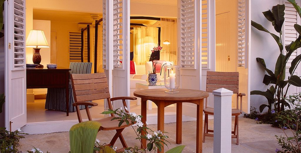 Or perhaps an Oceanfront Patio Room
