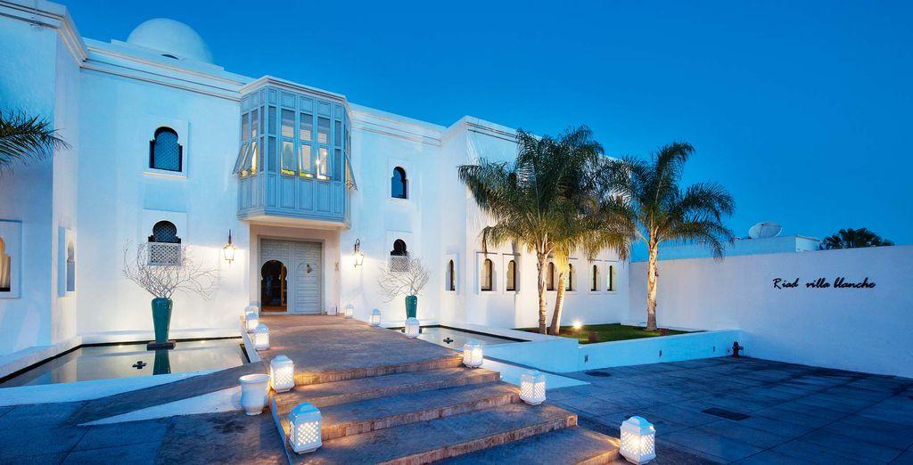 The stunning Riad Villa Blanche