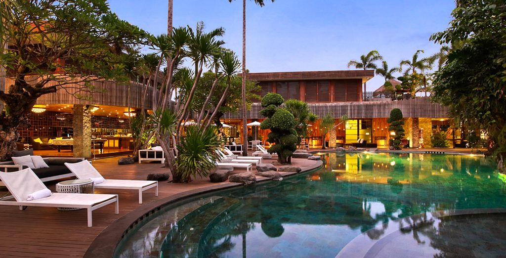 A showcase of  tranquility and luxury