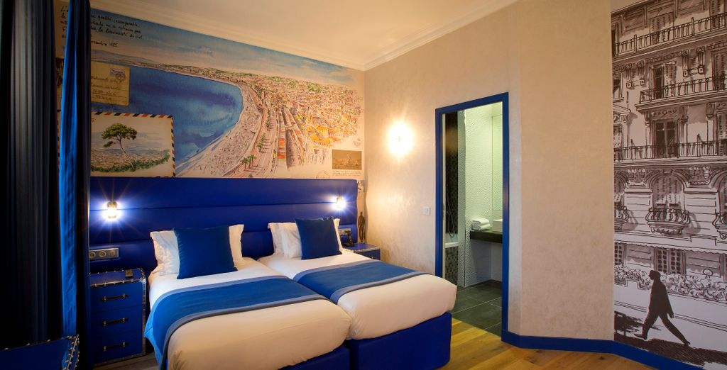 Opt for a Superior Double Room...