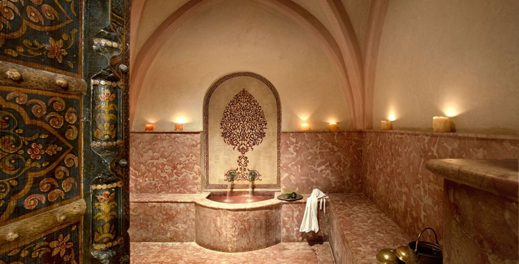 In the heat of the hammam